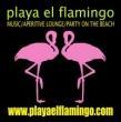 Playa El Flamingo/beach bar/aperitif/party
