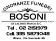 ONORANZE FUNEBRI BOSONI - VALENTE MARCO
